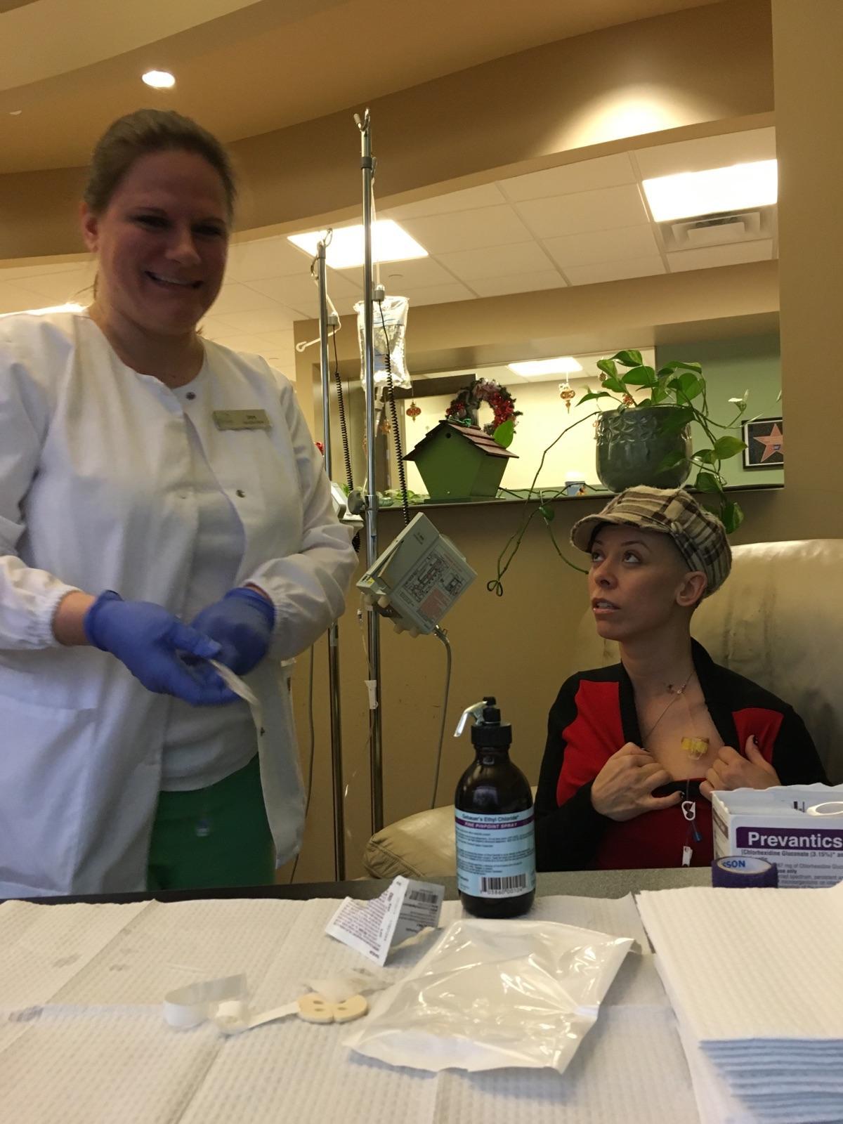 (16-01-07) Chemo Session#2
