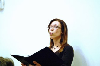 my choir face