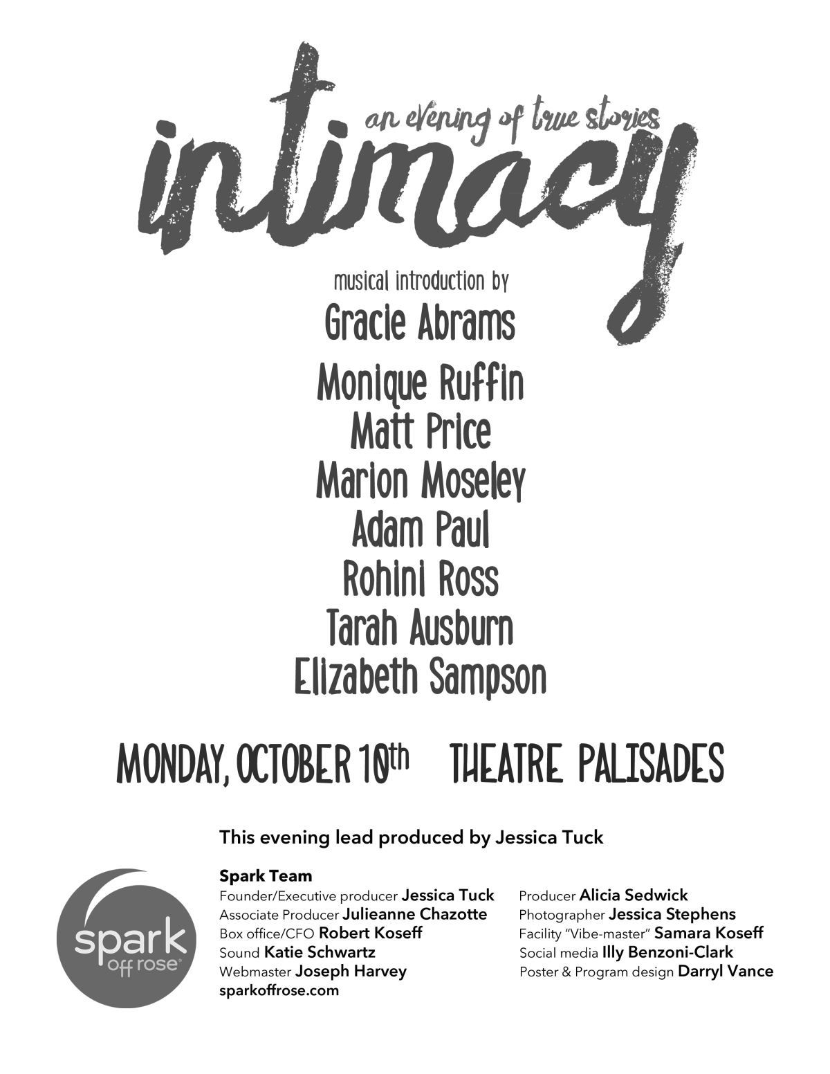 (16-10-10) Intimacy (UPDATED W/LINK)