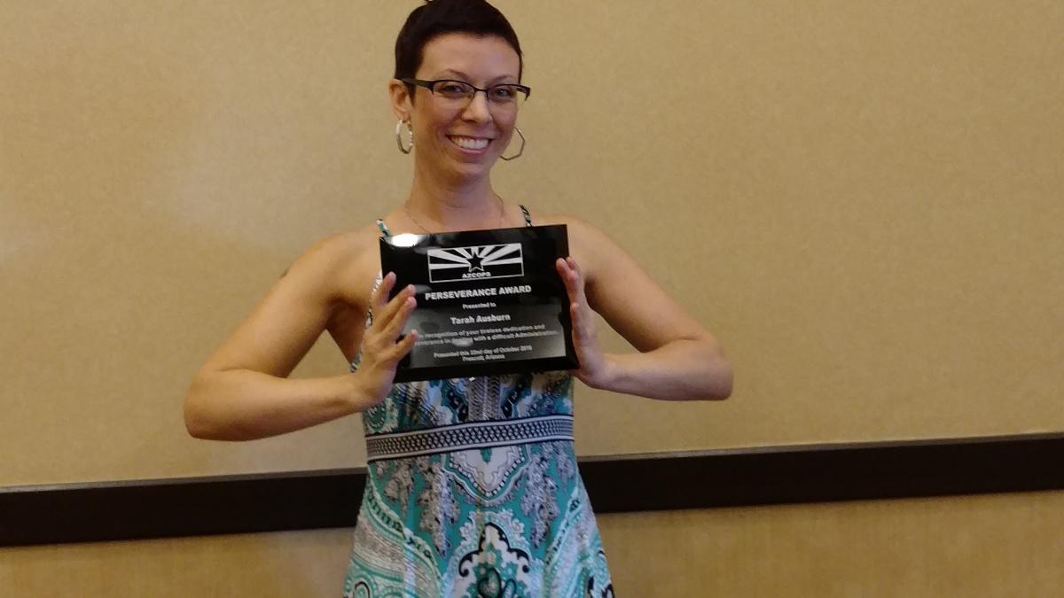 (16-10-22) Perseverance Award